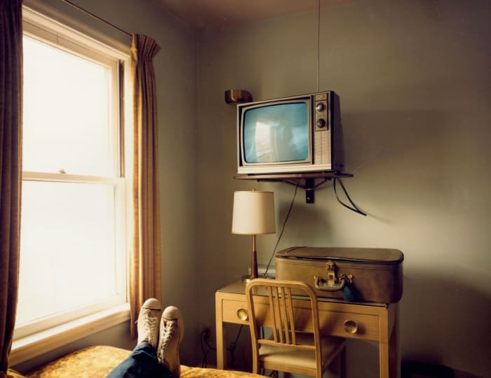 Room 125, West Bank Motel, Idaho Falls, Idaho, July 18 by Stephen Shore
