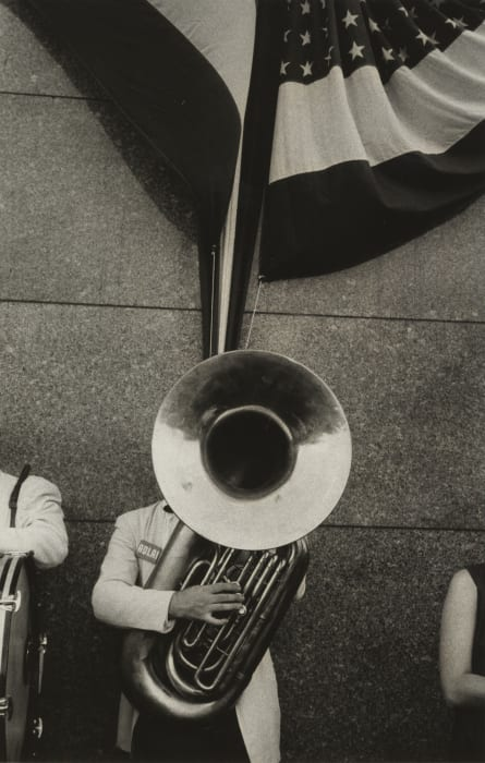 Political Rally, Chicago by Robert Frank