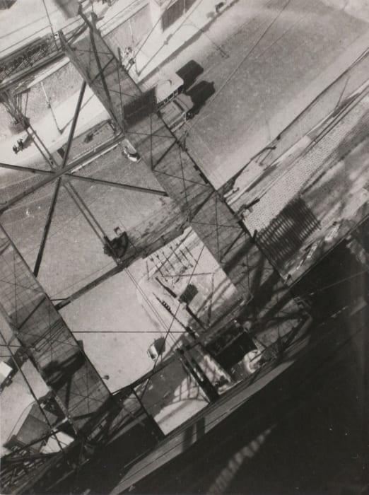 View from the Pont Transbordeur by László Moholy-Nagy