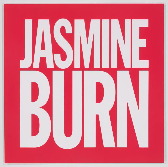 JASMINE BURN by John Giorno