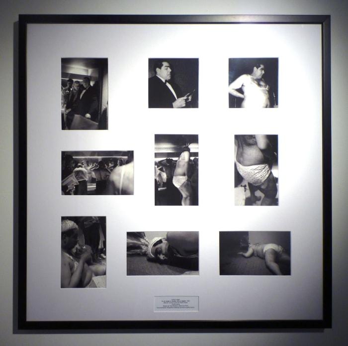 YO NO VENGO A VENDER, SINO A REGALAR (Mambo número ocho de Pérez Prado) Museum of Modern Art, Biennial of Paris by Carlos Leppe