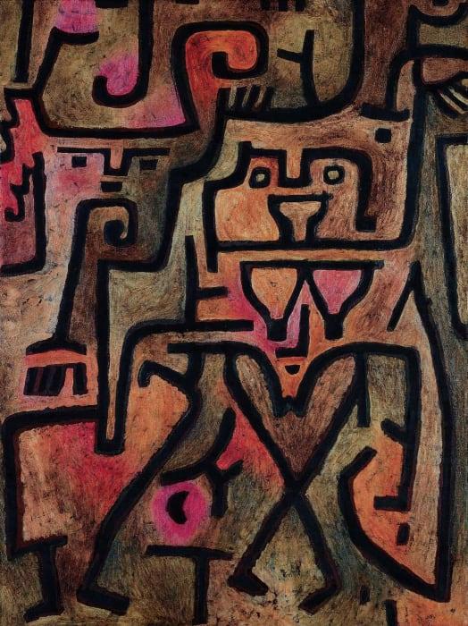 Wald-Hexen by Paul Klee