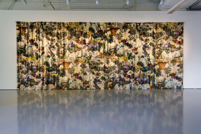 Curtain by Francesco Simeti