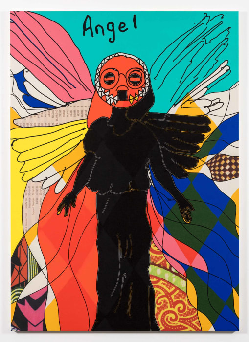Angel (Turquoise) by Yinka Shonibare MBE