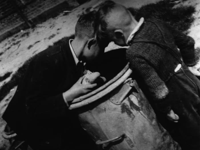 German children, Kassel, 1948 by Jonas Mekas