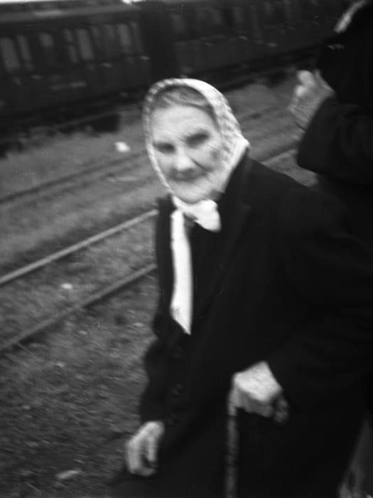 A woman, Kassel/Mattenberg D.P. Camp, 1948 2016 by Jonas Mekas