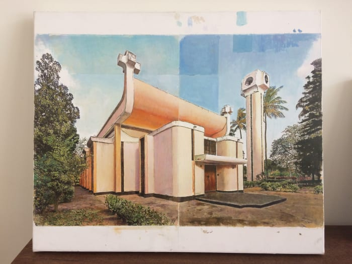 Sagrada Familia da Machava by Juan Araujo