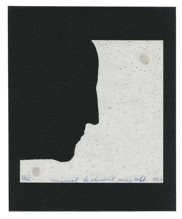 Autoportrait de profil by Marcel Duchamp