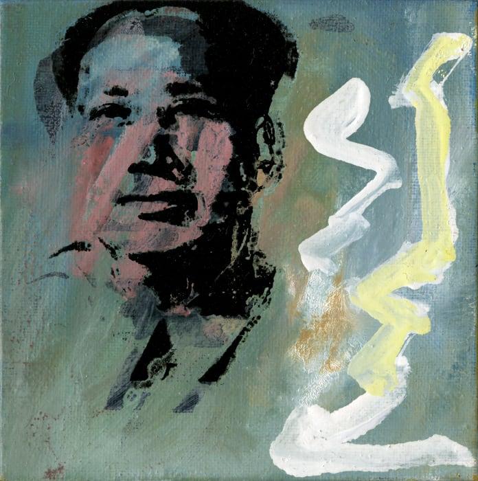 """Andy Warhol """"Mao"""", 1972-74 by Richard Pettibone"""