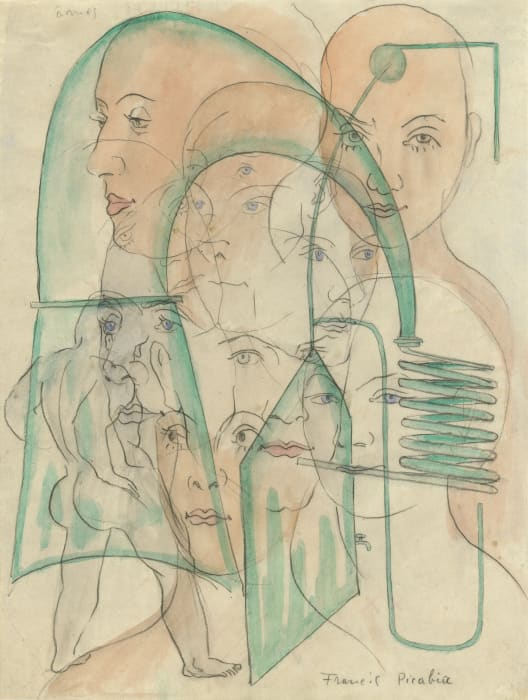 Âmes by Francis Picabia