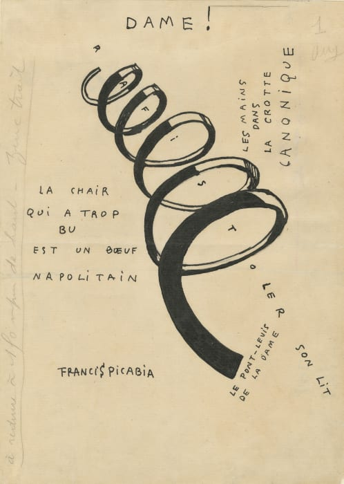 Dame! by Francis Picabia