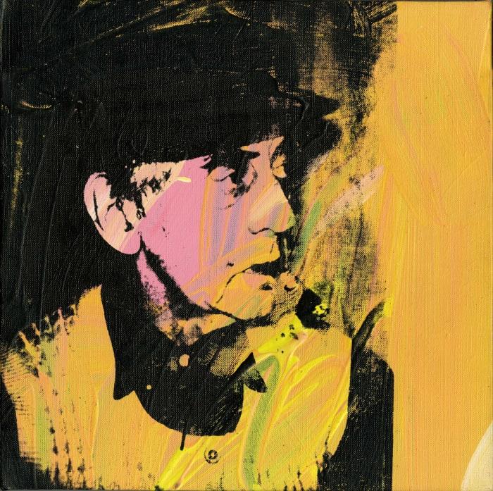 Portrait de Man Ray by Andy Warhol