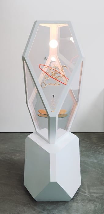 Superstructure (Vortex Flow with Crystal Tree) by Björn Dahlem