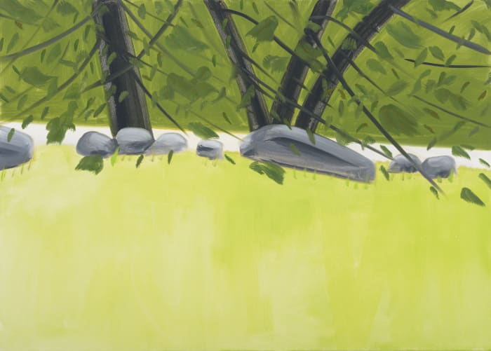 Four Trees 2 by Alex Katz