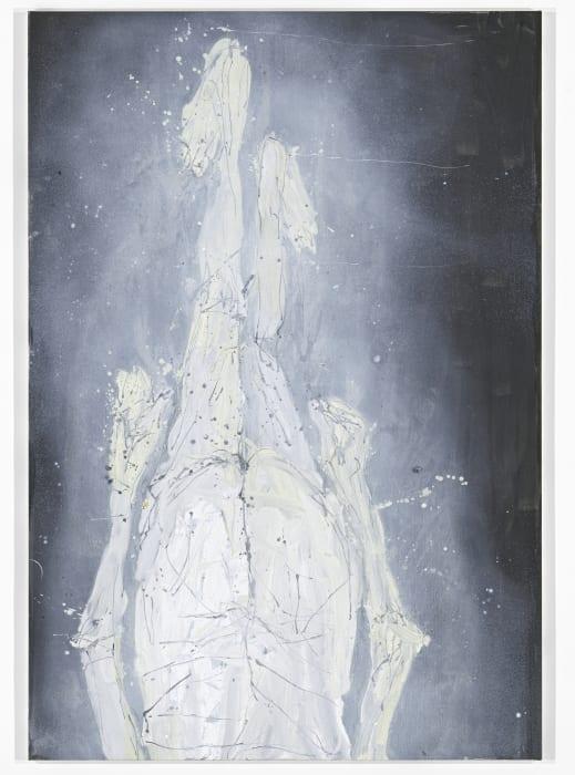 Der Kardinal hinter dem Vorhang by Georg Baselitz