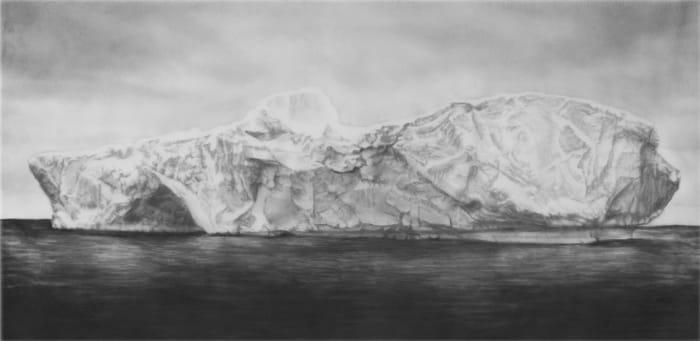 Study of Northern Iceberg by Robert Longo