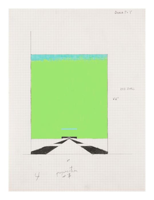 Study for Proposition #17 by Allan D'Arcangelo