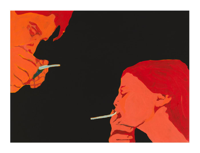 Cigarette Smoking May be Hazardous to Your Health by Rosalyn Drexler