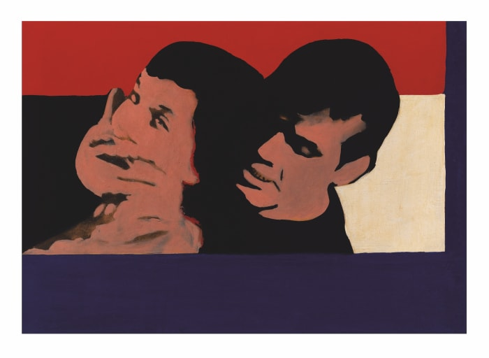 Mugging U.S.A. by Rosalyn Drexler