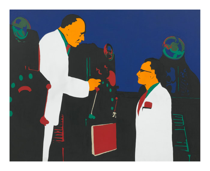 The Lesson (Men and Machines) by Rosalyn Drexler