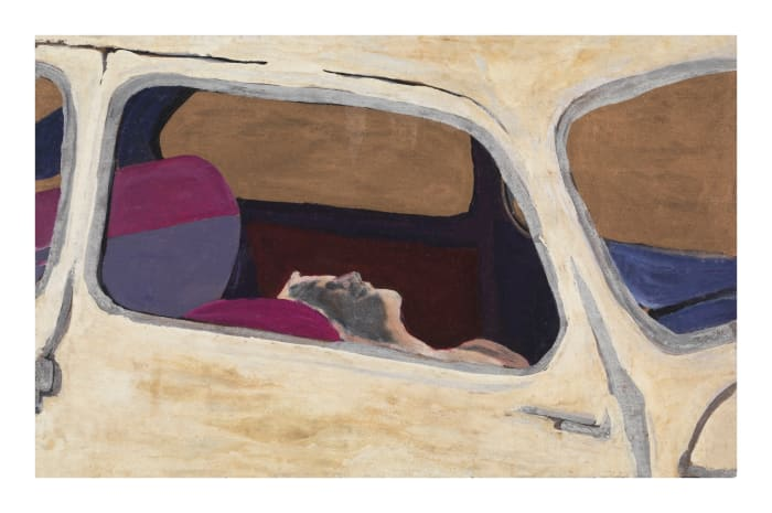 Corpse in Car by Rosalyn Drexler
