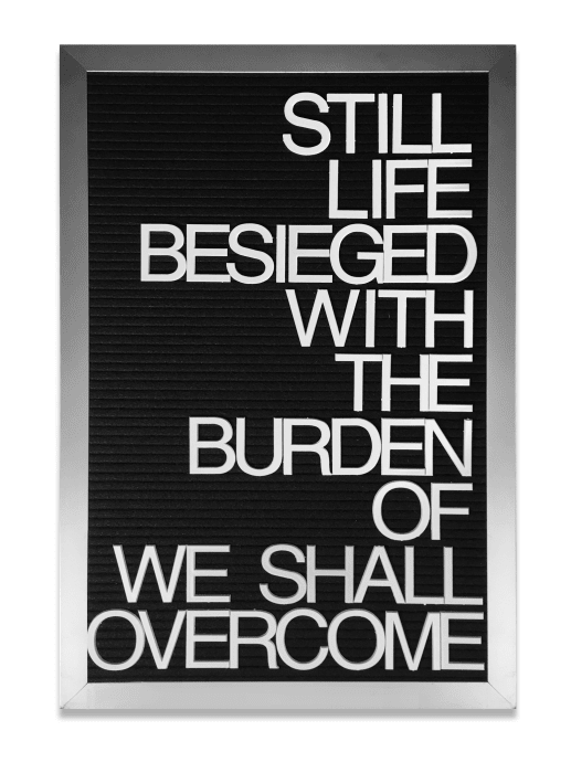 Untitled/We Shall Overcome by Maynard Monrow