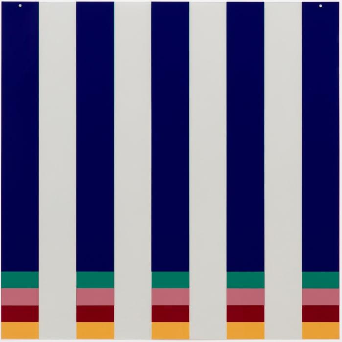 On Transparency: Situated Mylars II by Daniel Buren