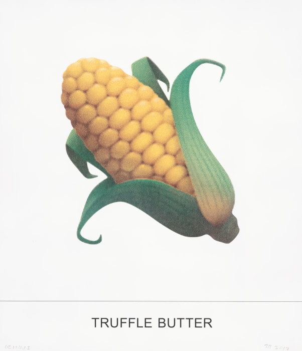 TRUFFLE BUTTER by John Baldessari