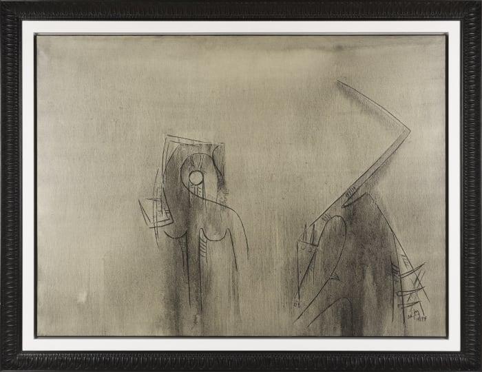 Figures grises (Composition fantastique) by Wifredo Lam