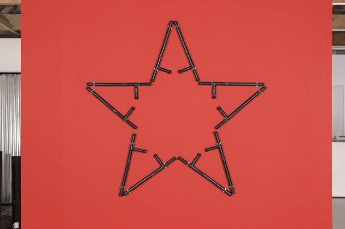 T.W. Batons (Pentagram) by Kendell Geers