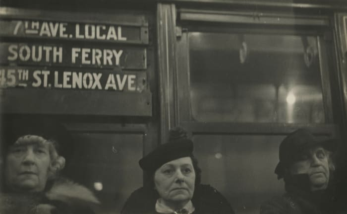 7th Avenue Local by Walker Evans
