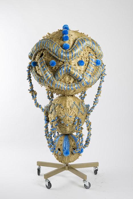 The Intermediate - Celebration of Three Spheres II by Haegue Yang