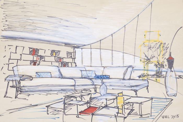 Living Room by William Leavitt