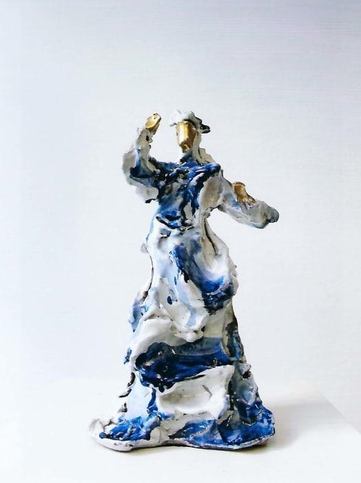 Donna allo specchio by Lucio Fontana