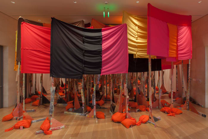untitled: 100banners2015 by Phyllida Barlow