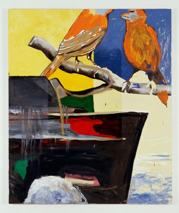 Untitled (Krieg böse) by Martin Kippenberger & Albert Oehlen