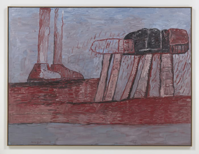 Lower Level by Philip Guston
