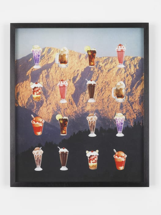 Candy Crush Collage by Oliver Payne