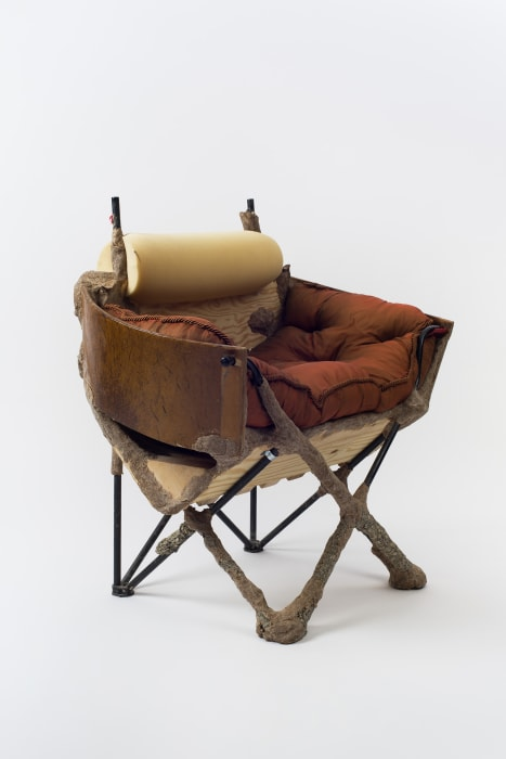 Crust Bucket Comes to Town (slipper chair) by Jessi Reaves