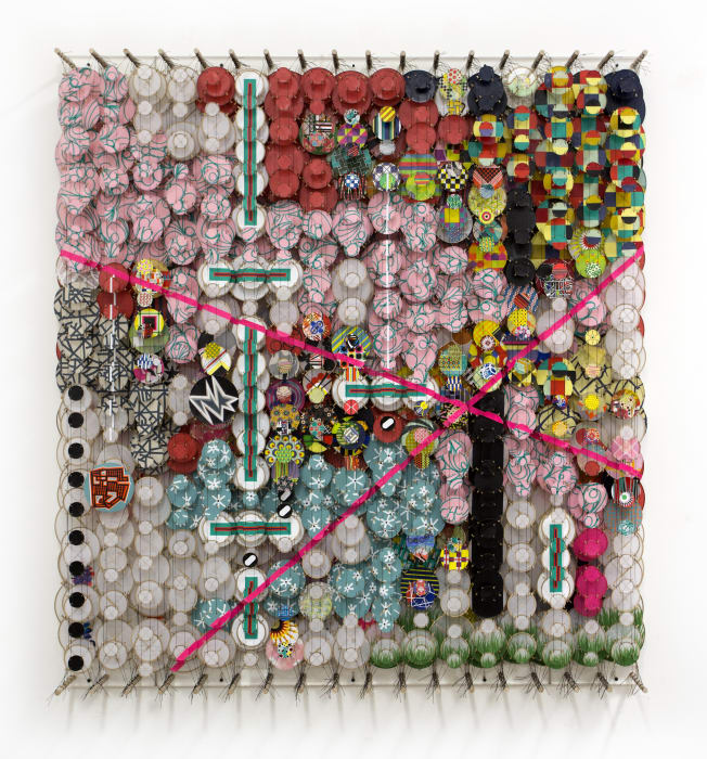 Our own restless natures, which want, but cannot have by Jacob Hashimoto