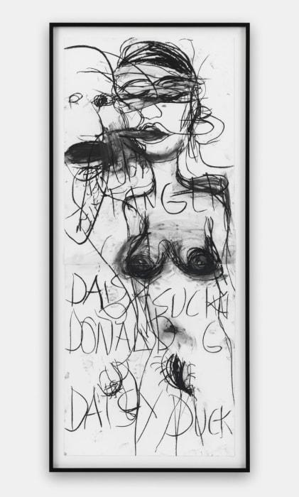 DADDA, FINGER DAISY SUCKING DONALD G DAISY DUCK by Paul McCarthy