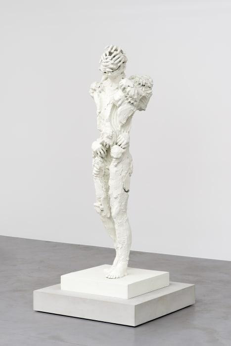 Untitled 1 (Bronze Watchers) by David Altmejd