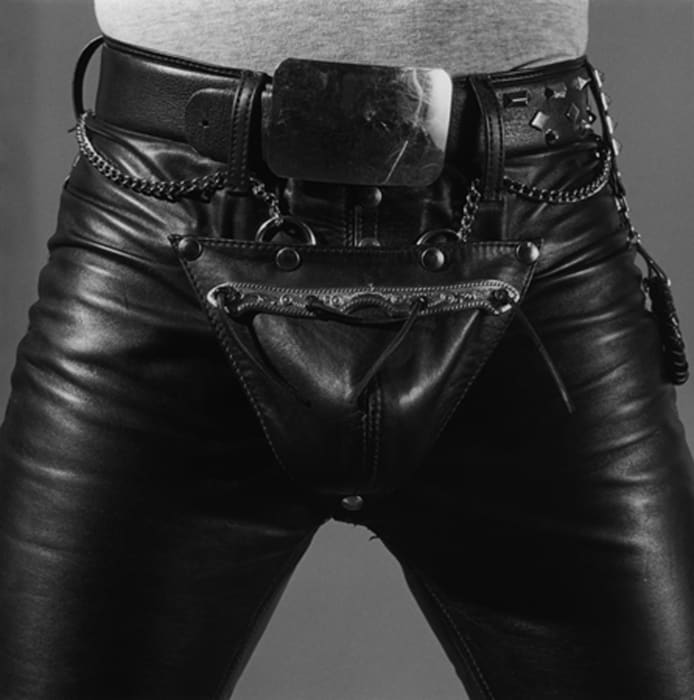 Leather Crotch (edition of 15 + 3 AP; this is 11/15) by Robert Mapplethorpe