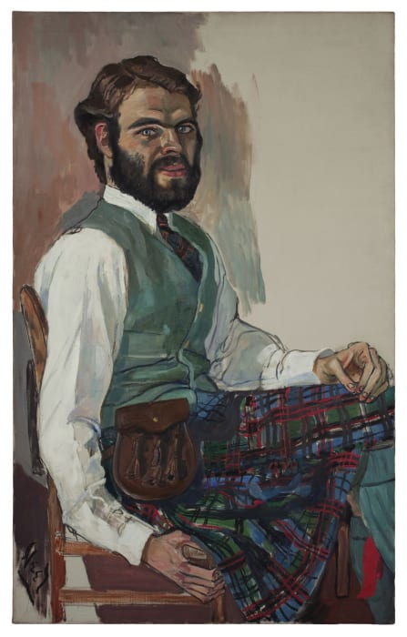 Stewart Mott by Alice Neel