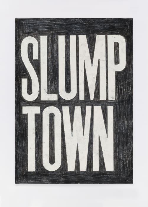 Untitled (slump town) 10.3.16 by David Austen