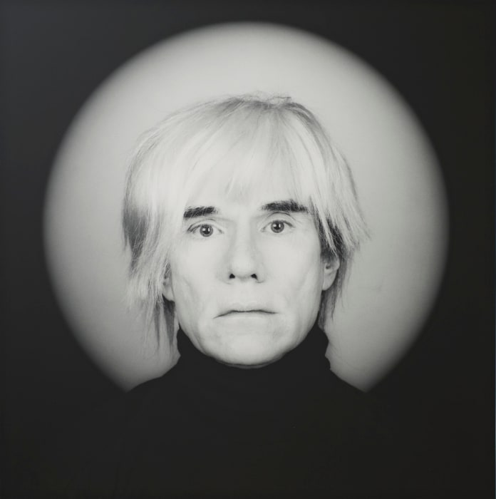Andy Warhol by Robert Mapplethorpe