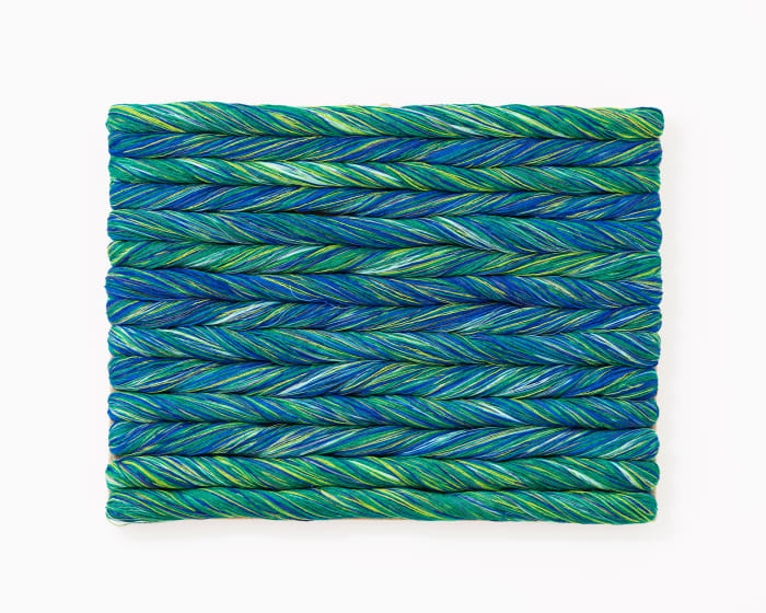 Torsade Turquoise by Sheila Hicks