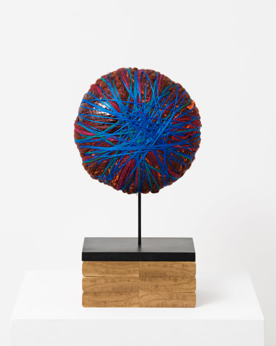 Mini boulder by Sheila Hicks