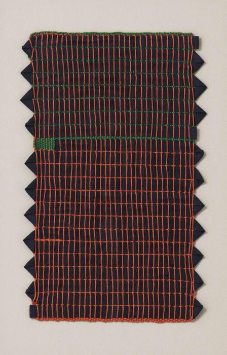 Green Box Grid by Sheila Hicks