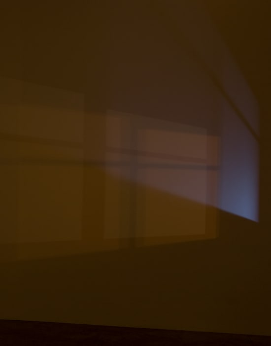 Light in an Empty Room (Studio Wall at Night) by Spencer Finch